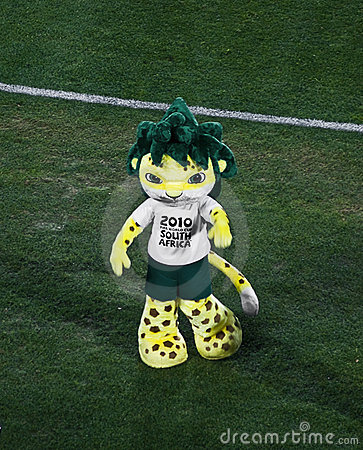 Zakumi - South African 2010 Mascot