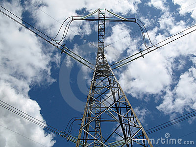 High-voltage transmission line