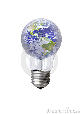 Earth in a Bulb