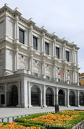 The Opera house, Madrid