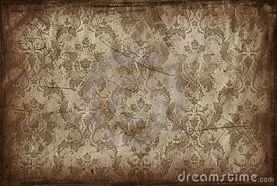 Vintage background from old wallpaper