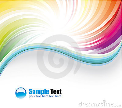 Delicate Colorful Business Background