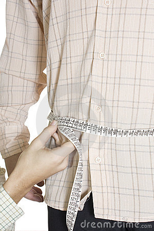 Tailored shirt measure Waist