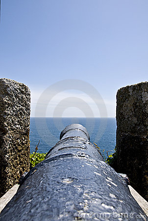 Canon at St Michaels Mount 2