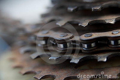 Bike Chain Gears