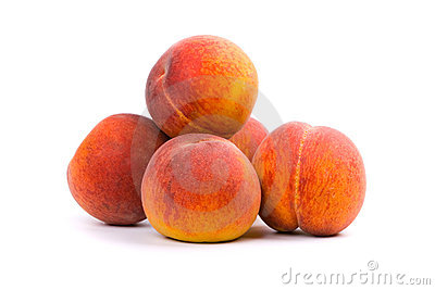 Five peaches