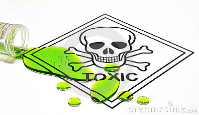 Toxic Sign & Spill