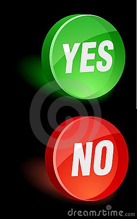 Yes/No Icon.
