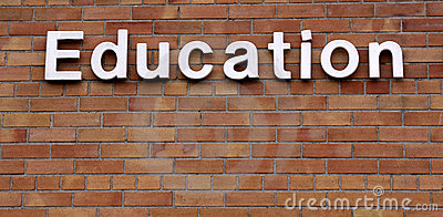 Education on a Brick Wall