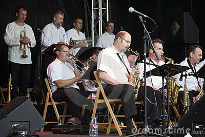 B3 Jazz Orchestra at the Montreux Jazz Festival