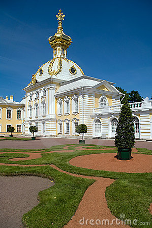 Palace in Peterhof