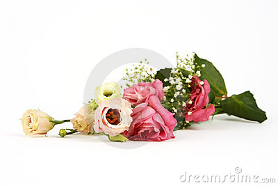 Flower bouquet of roses