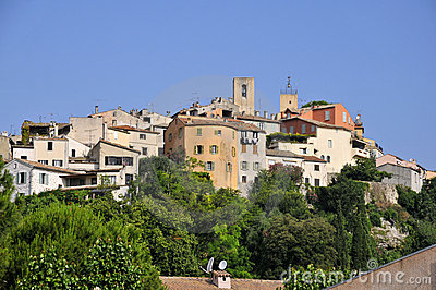 Village of Biot in France