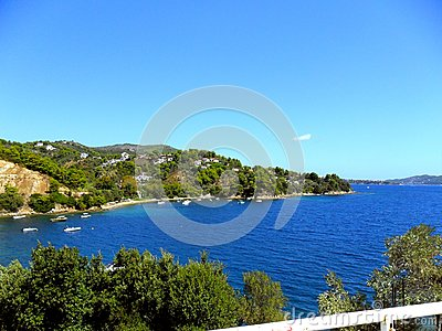 Greece, vacations on island of Skiathos