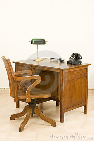 Ancient desk