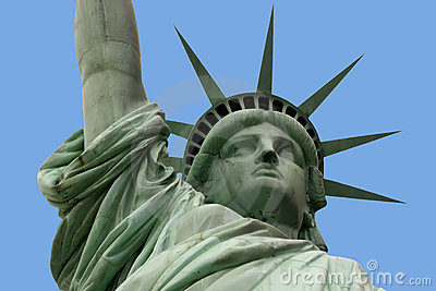 Statue of liberty and arm