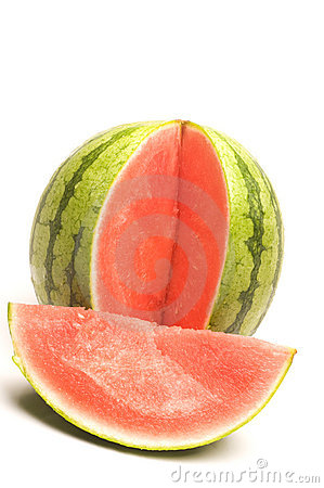 Personal size seedless watermelon