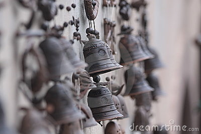 Small bells from a  pottery