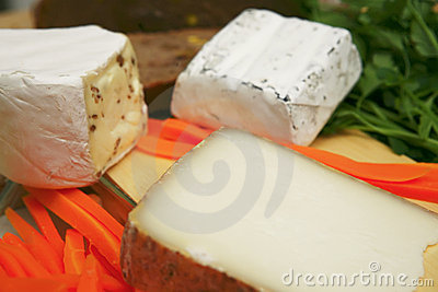 French delicatessen cheeses