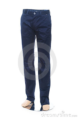 Woman trousers isolated