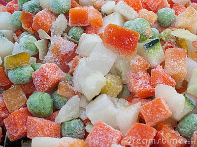 Frozen various vegetables