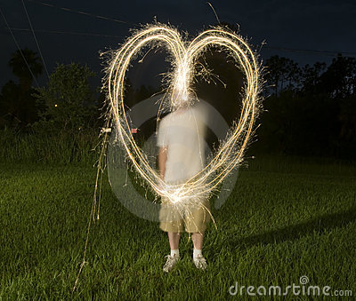 Abstract Shape from Sparklers