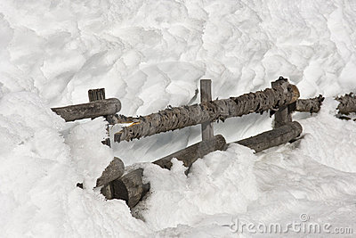 A Fence in the Snow