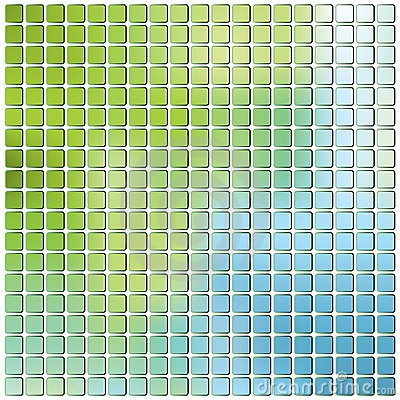 Color Grid Background