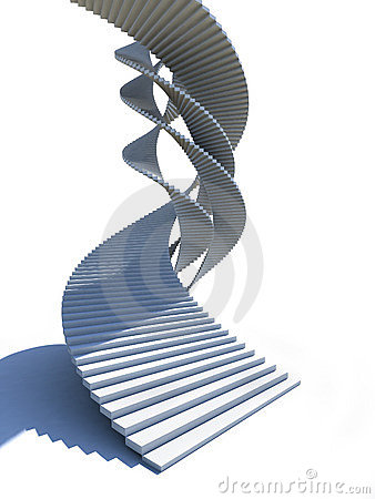 Staircase helix