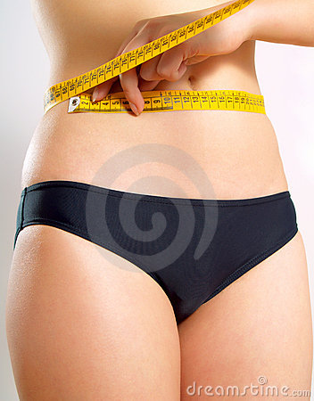 Tape measure for waist measuring