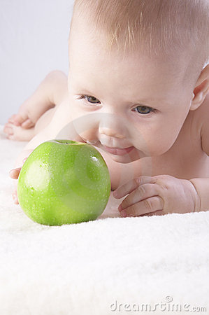 Babe and an apple #6