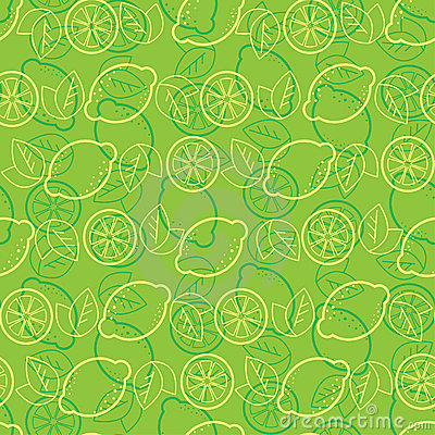 Seamless pattern from lemons