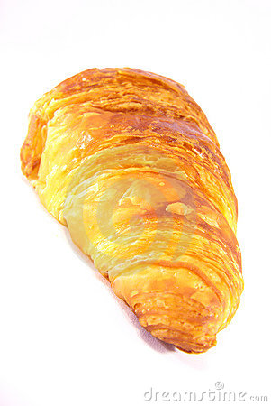 Typical croissant