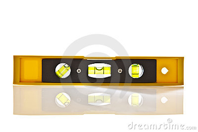 Yellow Spirit Level