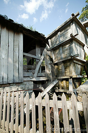 Old water-mill
