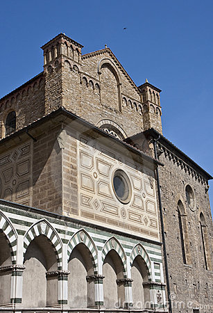 Catholic Church Wall in Florence