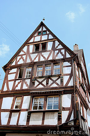 Typical German house