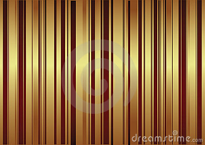 Vector background with red and golden stripes
