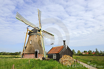 Dutch windmill - Groot-Ammers