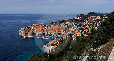 View on Dubrovnik