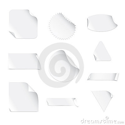 White Stickers