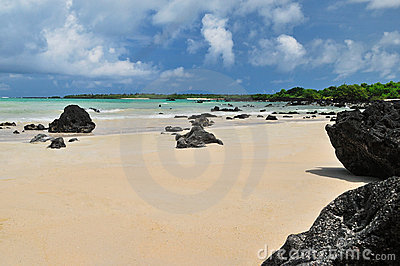 Galapagos islands beach