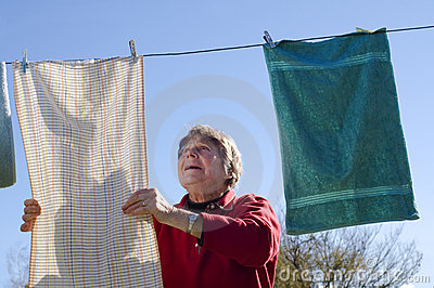 Ladu and washing line
