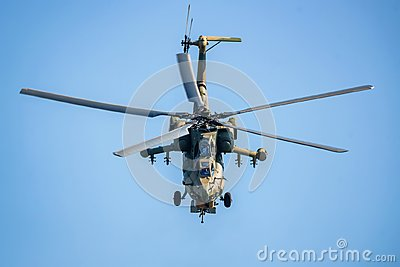 ROSTOV-ON-DON, RUSSIA - AUGUST, 2017: Mi-28 Havoc