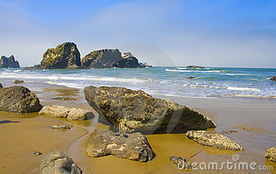Rocky Beach, Ecola State Park Oregon, USA