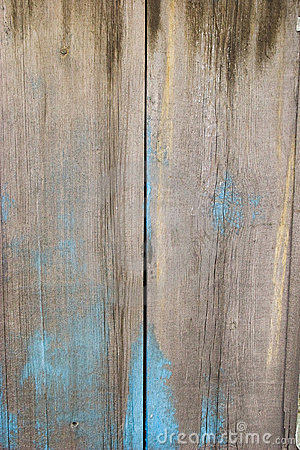 Fence. blue