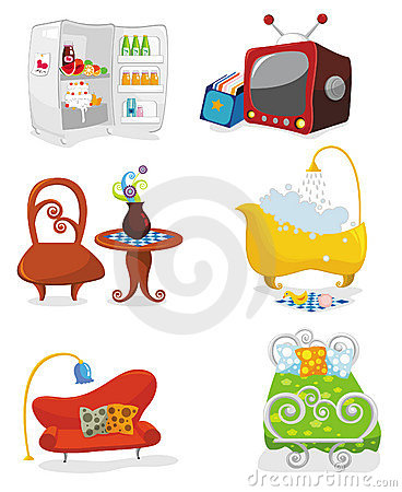 Houseware icon set