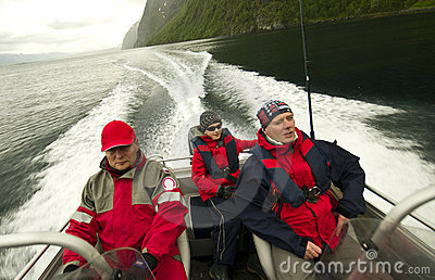 Fishing trip in Norway