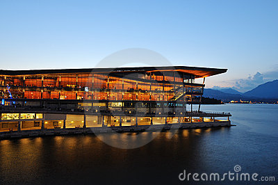 Vancouver conference centre at Canada place