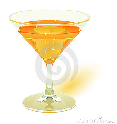 Icon of a cocktail, drink